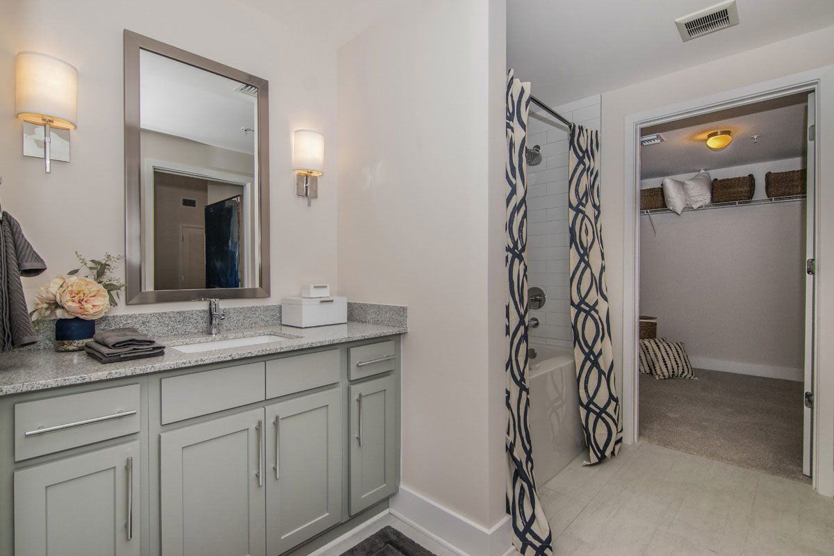 Typical Residential Unit Bathroom