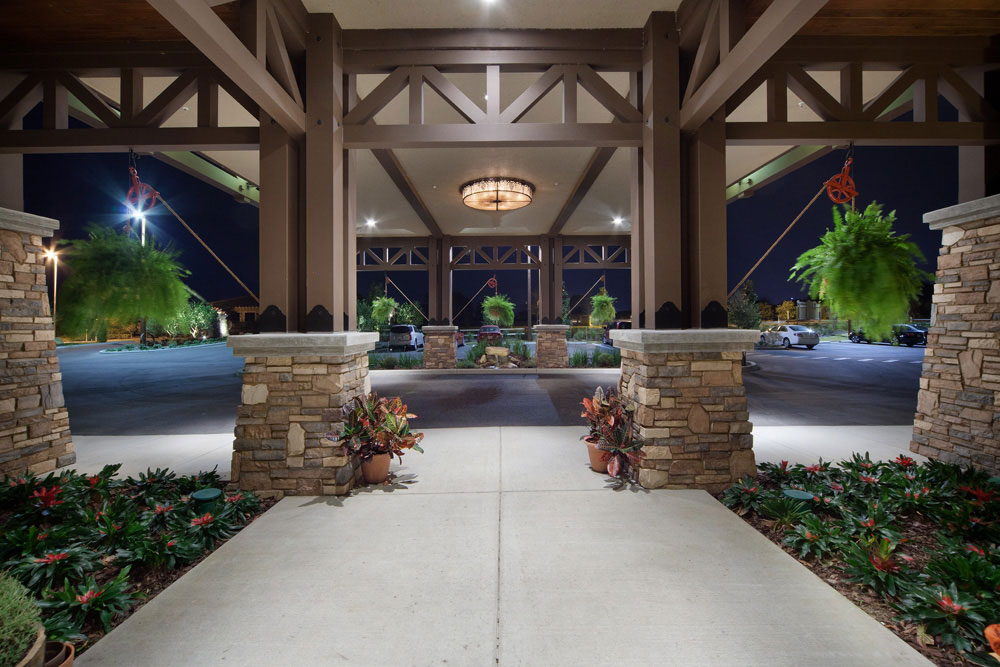 Osprey Lodge Entrance