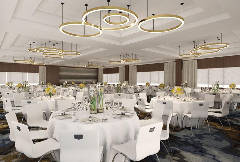 Architect's Rendering | Ballroom