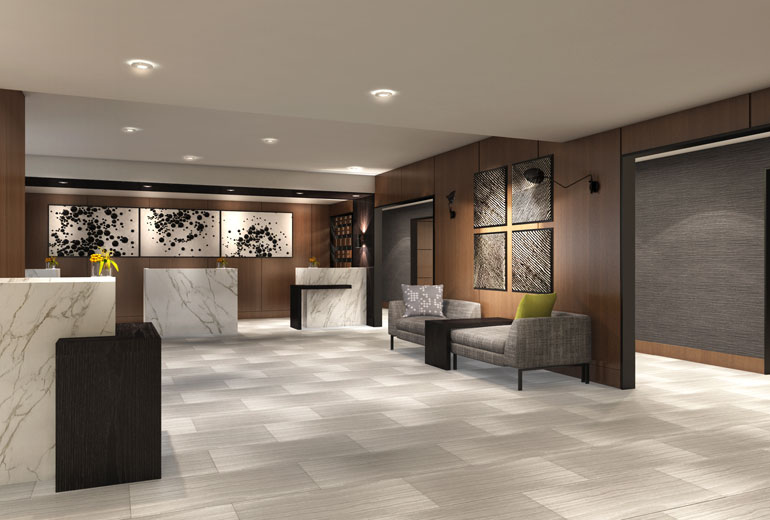 Architect's Rendering | Guest Lobby