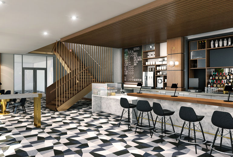 Architect's Rendering | Restaurant