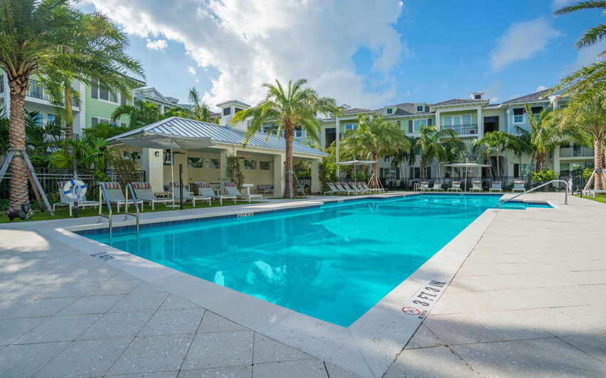 Delray Station | Pool Area